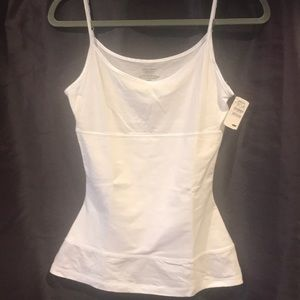 Yummie tummie white cami. New from Neiman Marcus